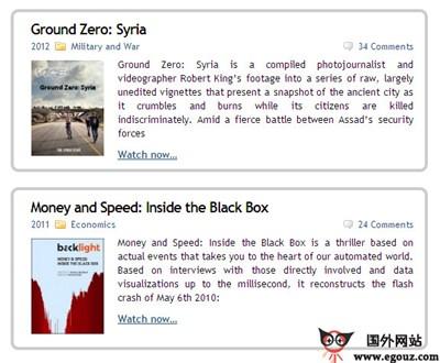 【经典网站】TopDocumentaryFilms:在线纪录片分享交流平台