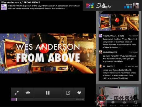 【经典网站】ShelBy.TV社交视频网