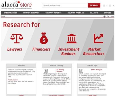 【经典网站】比较高大上的知名企业信用研究和盈利调查记录网站——AlacraStore