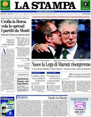 【经典网站】LaStampa|意大利新闻报
