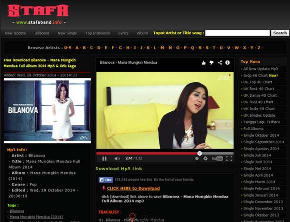 【经典网站】StafaBand:免费MP3音乐下载网