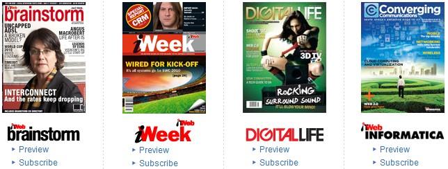 【经典网站】ITweb:南非IT综合网