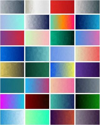 【素材网站】LowPolygon|免费低多边形背景素材库