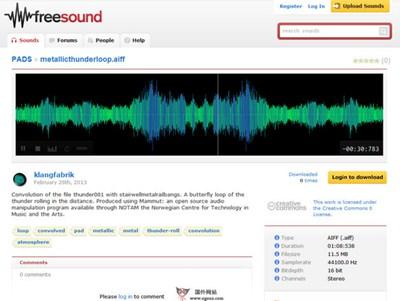 【经典网站】FreeSound:音频样本分享社区