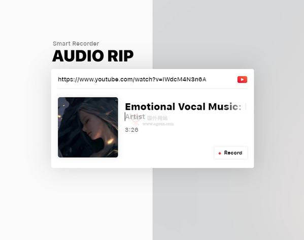 【工具类】Airtape|在线影音转MP3工具