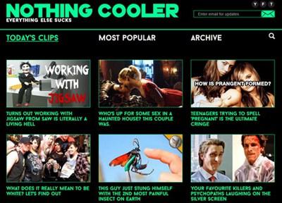 【经典网站】NothingCooler|每日精选视频推荐网