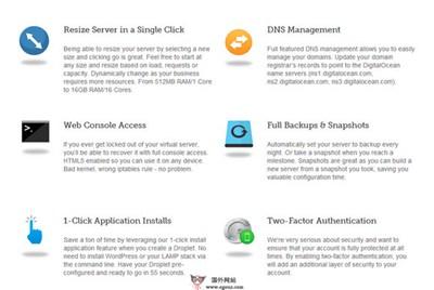 【经典网站】DigitaLocean:固态硬盘云托管服务平台