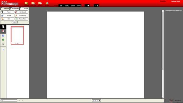 【工具类】PDFescape:在线PDF文件编辑阅读工具