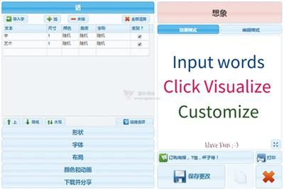 【工具类】WordArt|在线文字云设计工具
