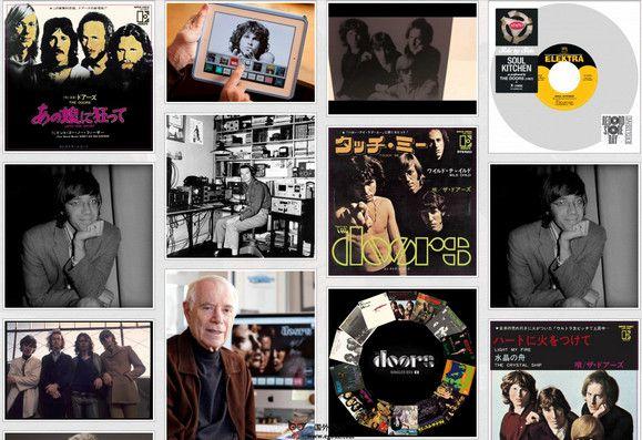 【经典网站】TheDoors:美国大门摇滚乐队官网