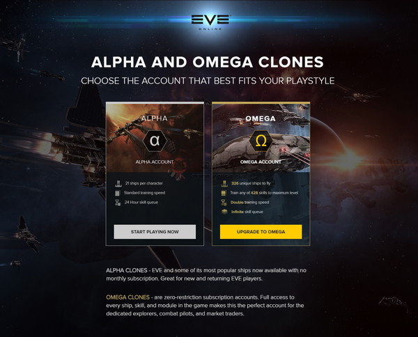 【经典网站】EVE Online|星战前夜太空游戏
