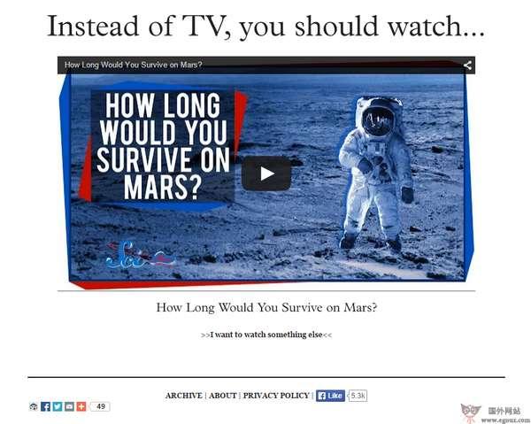 【经典网站】UnplugtheTV:在线知识视频网