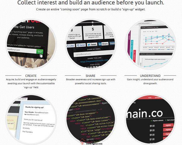 【经典网站】LaunChrock.CO:企业网站测试分析平台