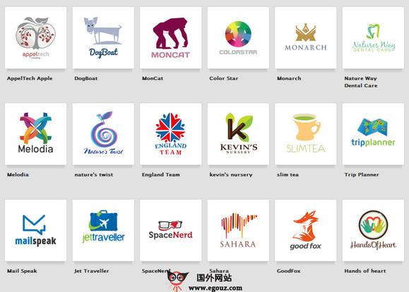 【经典网站】StockLogos:在线企业形象设计网