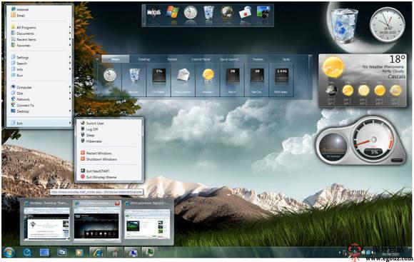 【工具类】WinStep:系统桌面DOCK美化工具