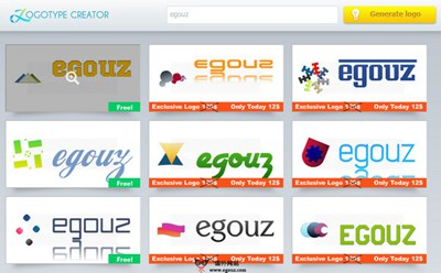 【工具类】LoGoTypeCreator:免费LOGO随机制作工具