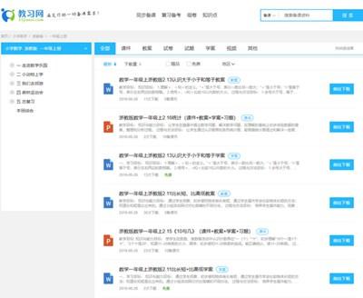 【经典网站】中小学K12备课资料 – 教习网