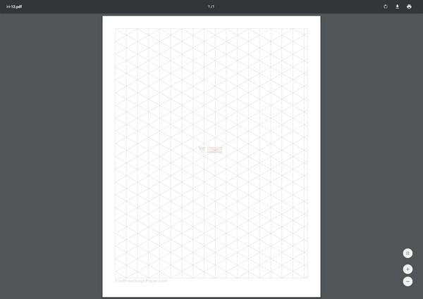 【工具类】在线可打印方格纸生成器