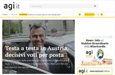 【经典网站】意大利AGI新闻通讯社
