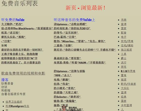 【经典网站】PublicDomain4u:公共领域免费音乐网
