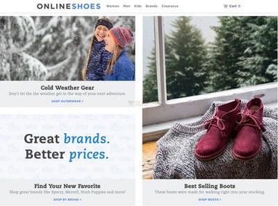 【经典网站】OnlineShoes|美国网上鞋类零售购物网