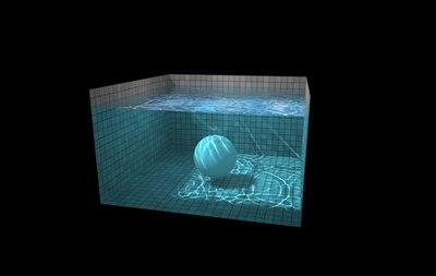 【数据测试】HTML5魅力,水池里的球