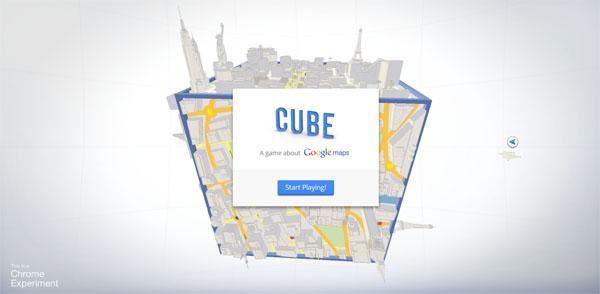 【数据测试】3D视觉盛宴:Cube 基于google地图的HTML5云游戏