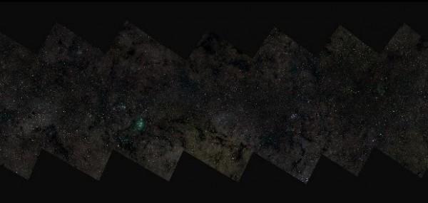 【数据测试】迄今最大银河系照公布:像素高达460亿