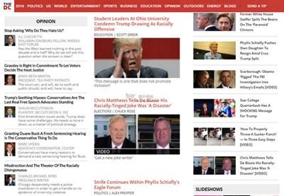 【经典网站】DailyCaller:每日传讯新闻报