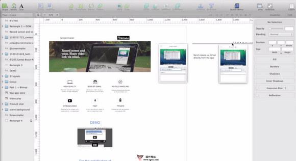 【工具类】ScreenMailer:在线屏幕视频录制分享工具
