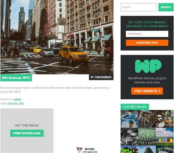 【素材网站】IsoRepublic:免费公共领域素材网