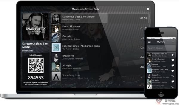 【经典网站】Festify:基于Spotify音乐专题网