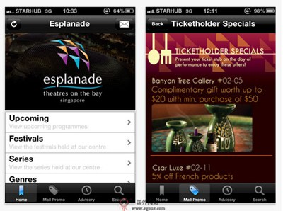 【经典网站】Esplanade:新加坡榴莲艺术中心