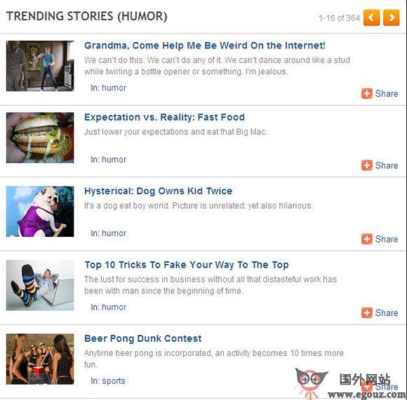 【经典网站】TheSlingShot:互联网热门资讯网