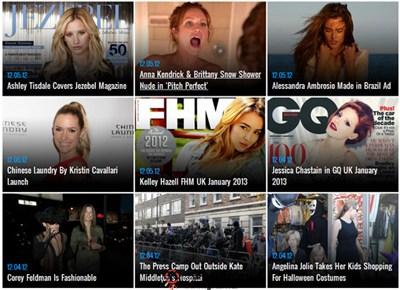 【经典网站】TheBlemish:好莱坞名人八卦新闻博客