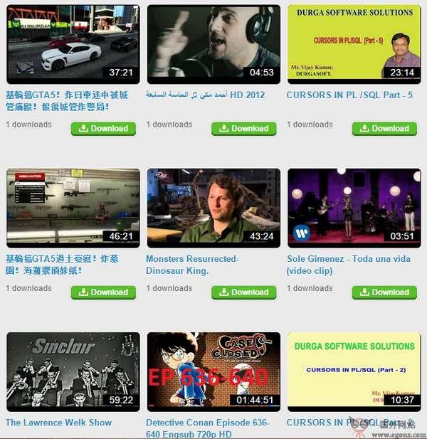 【工具类】VideoGrabber:免费视频抓取下载网
