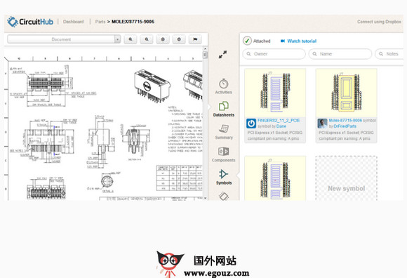 【工具类】CircuitHub:在线协作式元器件设计工具