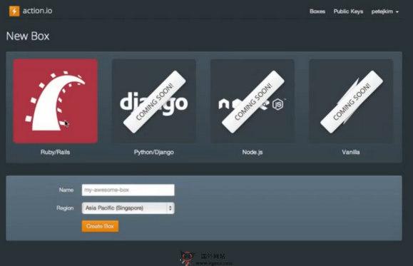 【经典网站】Nitrous.io:编程环境云测试平台