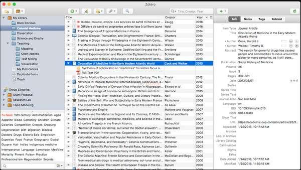 【工具类】Zotero|免费开源参考文献管理工具