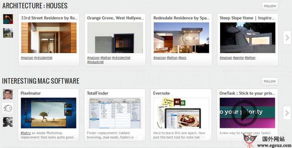 【经典网站】GetveGa:书签式购物分享平台