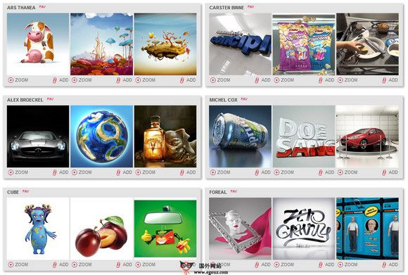 【经典网站】IllustrationWeb:插画艺术作品资源平台