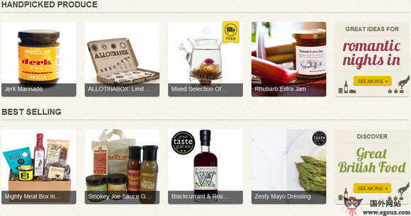 【经典网站】LoveYourLarder:英国美食家美食市场网