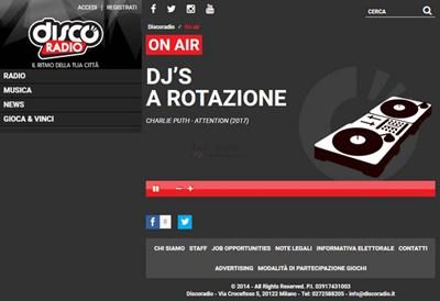 【经典网站】DiscoRadio|动感舞曲音乐电台