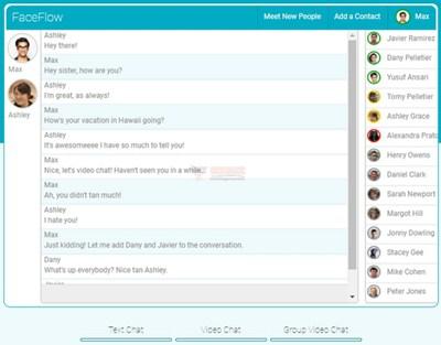 【经典网站】FaceFlow:免费随机视频聊天网