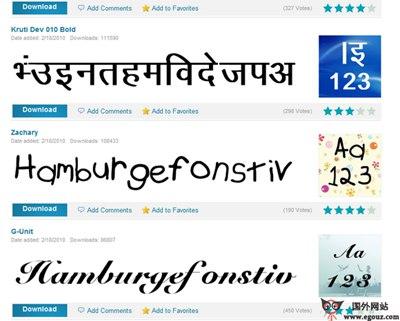 【素材网站】FontStock:免费英文字体素材下载站