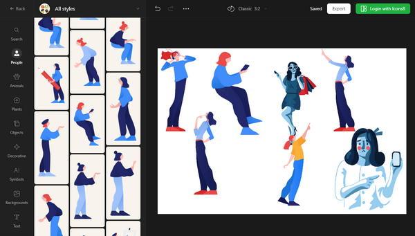【工具类】简报插图创作工具 -VectorCreator