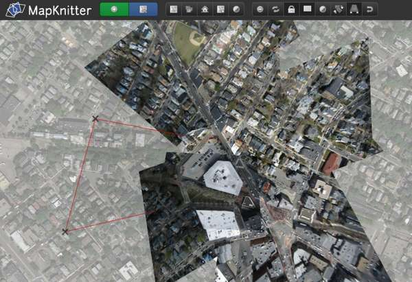 【工具类】MapKnitter|免费航拍图像转地图工具包