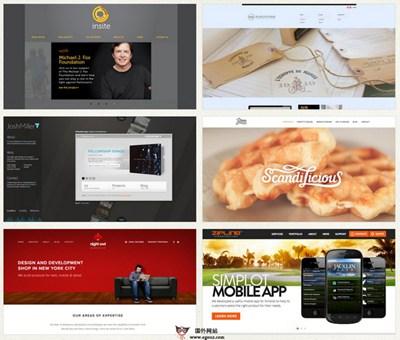 【素材网站】TheBestDesigns:最佳网页设计展示网