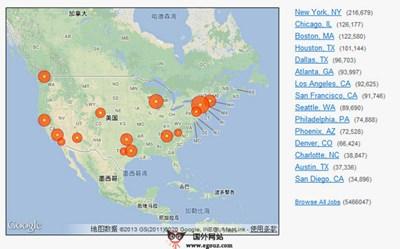 【经典网站】Seek4Career:美国就业职位搜索引擎