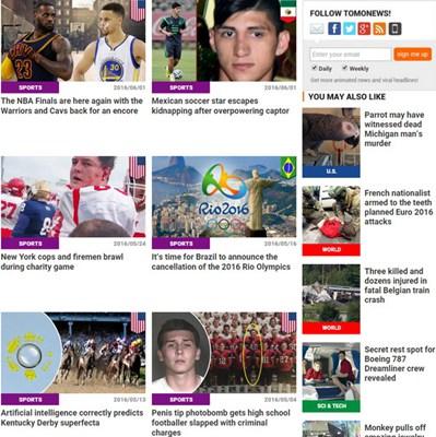 【经典网站】TomoNews:国际视频新闻头条网